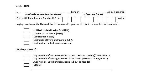 Sample Request Letter For Construction Of Hospital Building