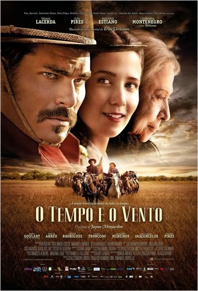 Download - O Tempo e o Vento – DVDRip AVI + RMVB Nacional ( 2013 )