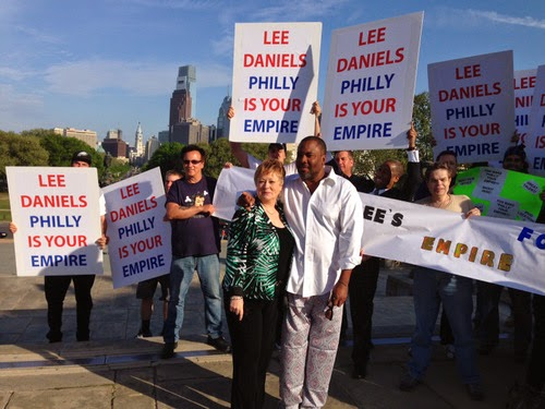 Rally to bring Lee Daniels' 'Empire' filming to Philadelphia
