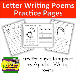 Letter and number writing poems simply kinder so i have the ultimate resources for you spiritdancerdesigns Images