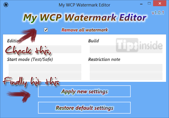 watermark remover tool for windows 8