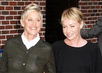 Ellen Degeneres e Portia abrem restaurante vegano nos EUA