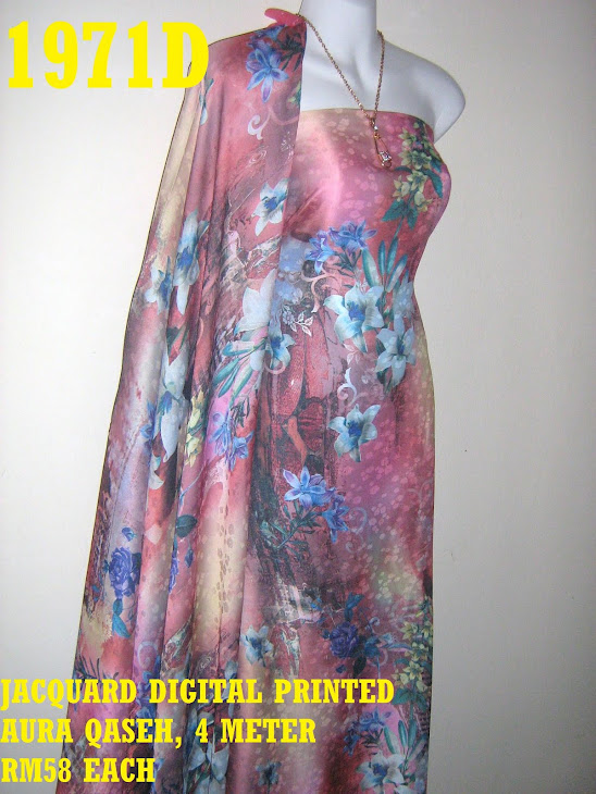 JDP 1971D: JACQUARD DIGITAL PRINTED AURA QASEH, 4 METER