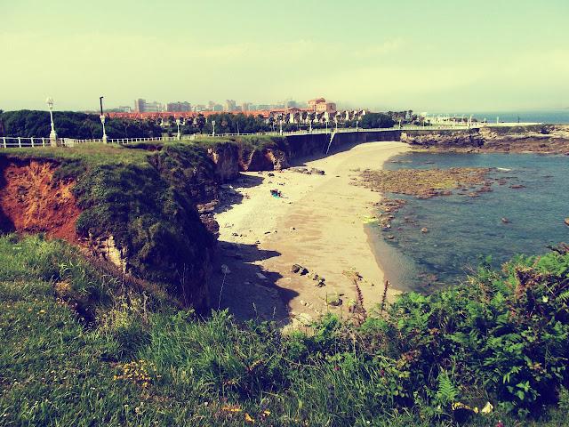 Gijón playa