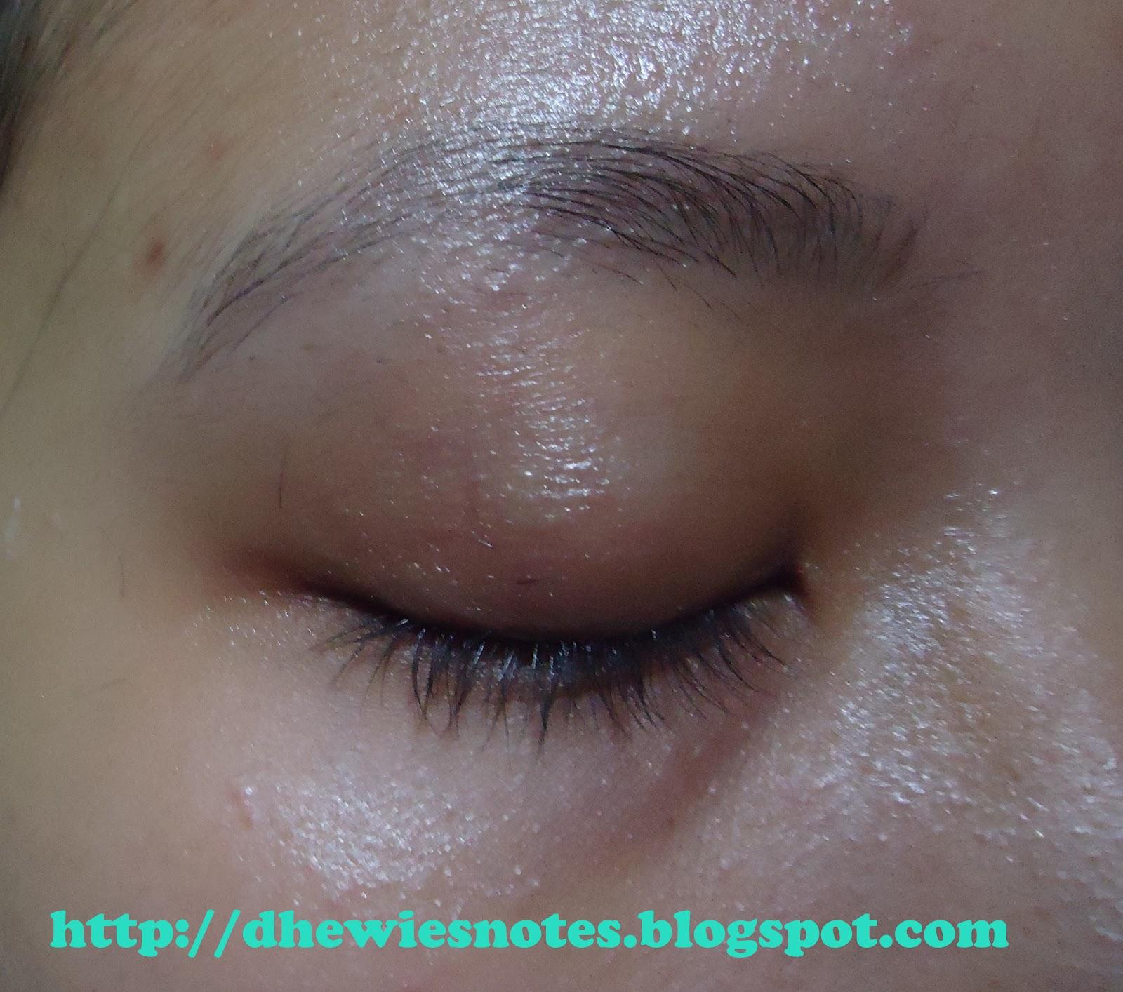 Step selanjutnya bersihkan eyeliner dan bulu bulu yang dicukur hasilnya seperti gambar diatas Maaf ya karena terlalu asyik gak sadar kalo ambil fotonya
