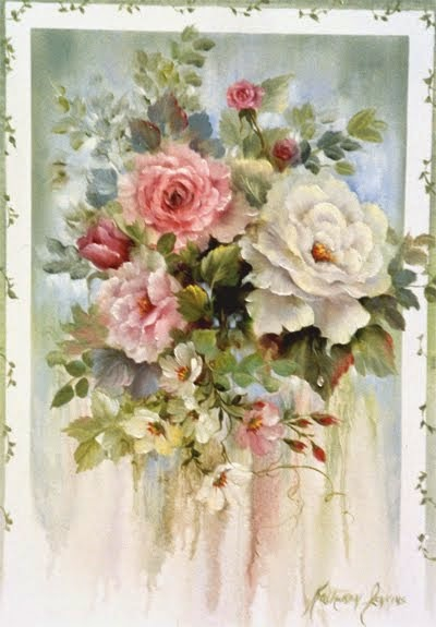 Roses By Kathwren Jenkins By Permission