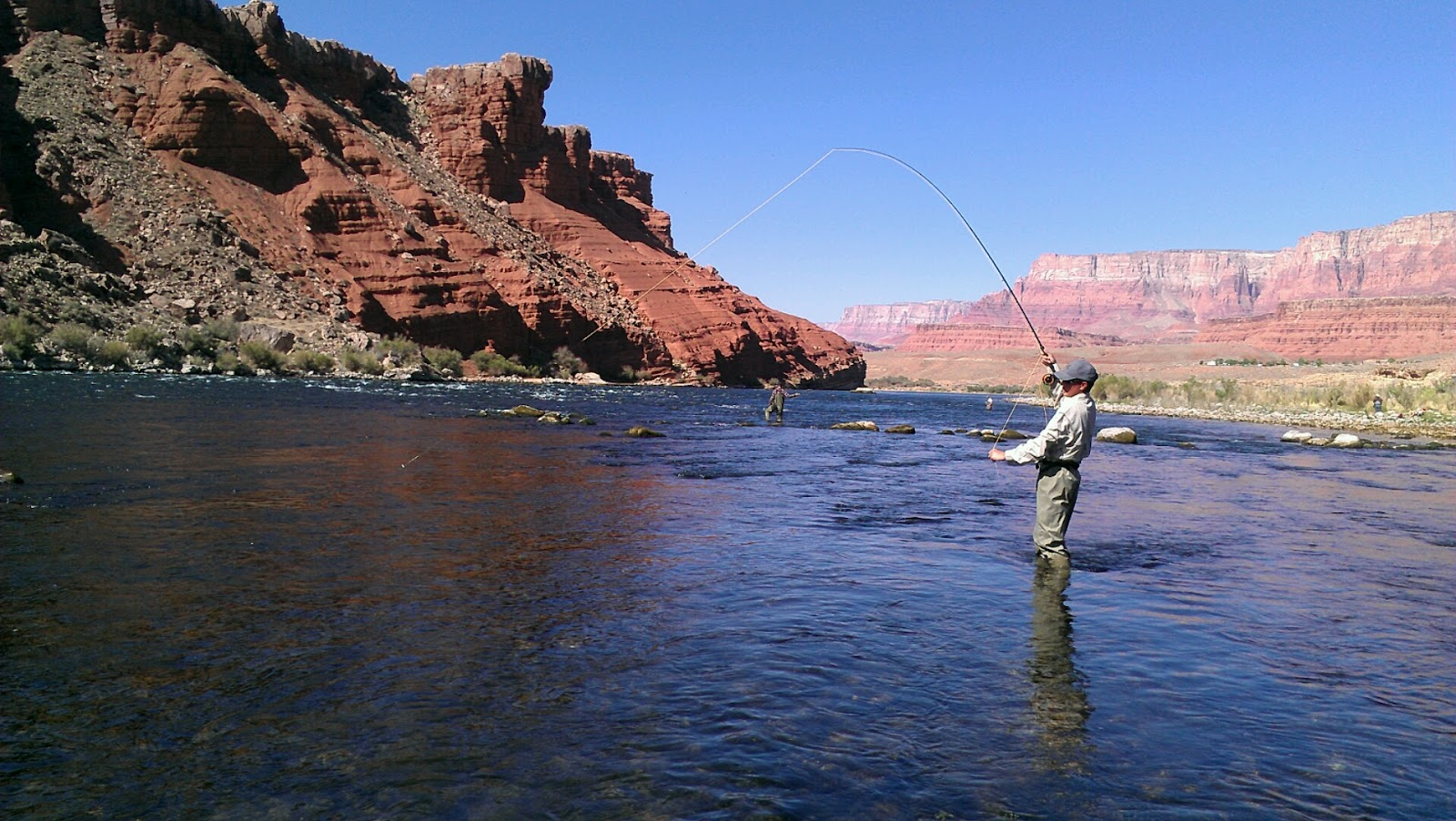 how to fly fishing the fish near river bank