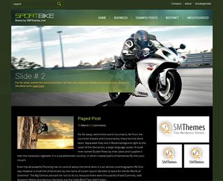 Sportbike+Blogger+Template