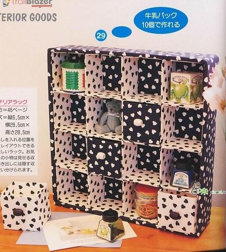 Manualidades Virshy: Organizador con tetrapack