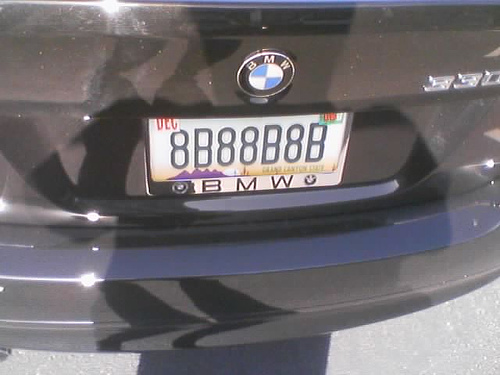 Funny Pictures: License Plates