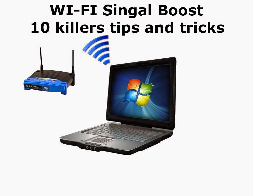 Boost Wifi Signal Speed