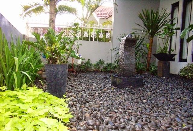 taman kering depan rumah gallery gambar contoh gambar