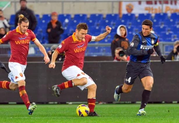 Prediksi AS Roma vs Inter Milan 2 Maret 2014