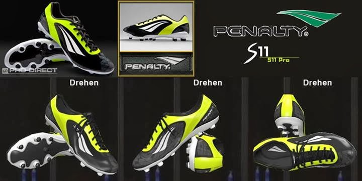 PES 2014 Penalty S 11 Pro Termotec FG Boots