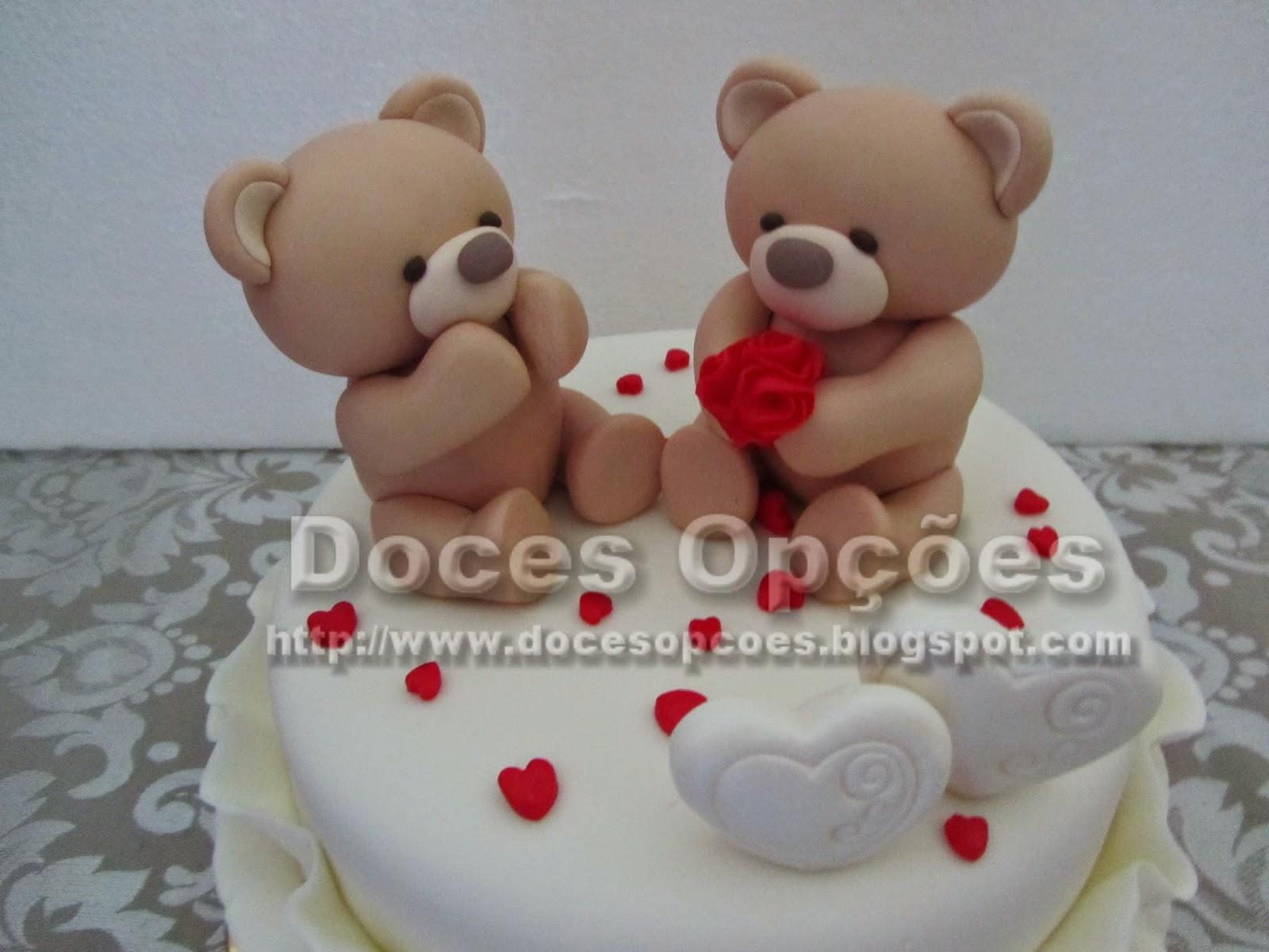 ursinhos pasta açucar