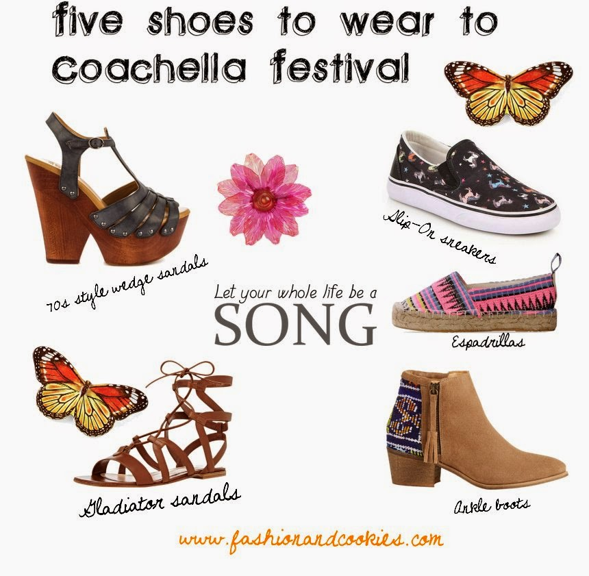 flat shoes, slip-on shoes, the right shoes for a music festival, Fashion and Cookies, fashion blogger tips