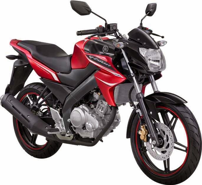 Gambar Yamaha Vixion Terbaru merah