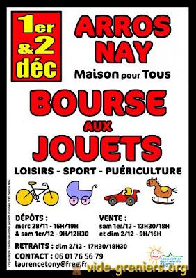 bourse aux jouets 2012 à Arros-de-Nay