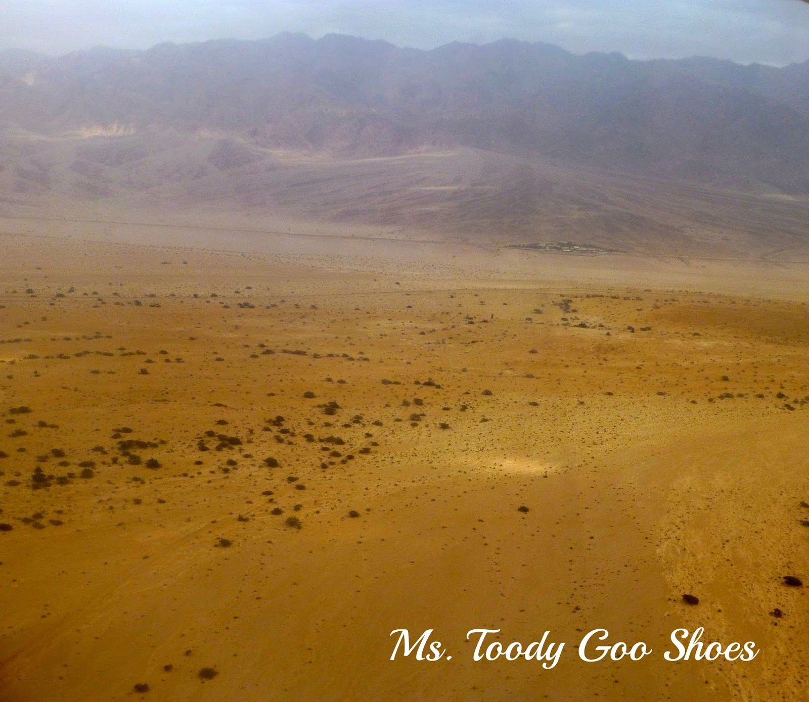 Wadi Rum Desert, Jordan --- Ms. Toody Goo Shoes