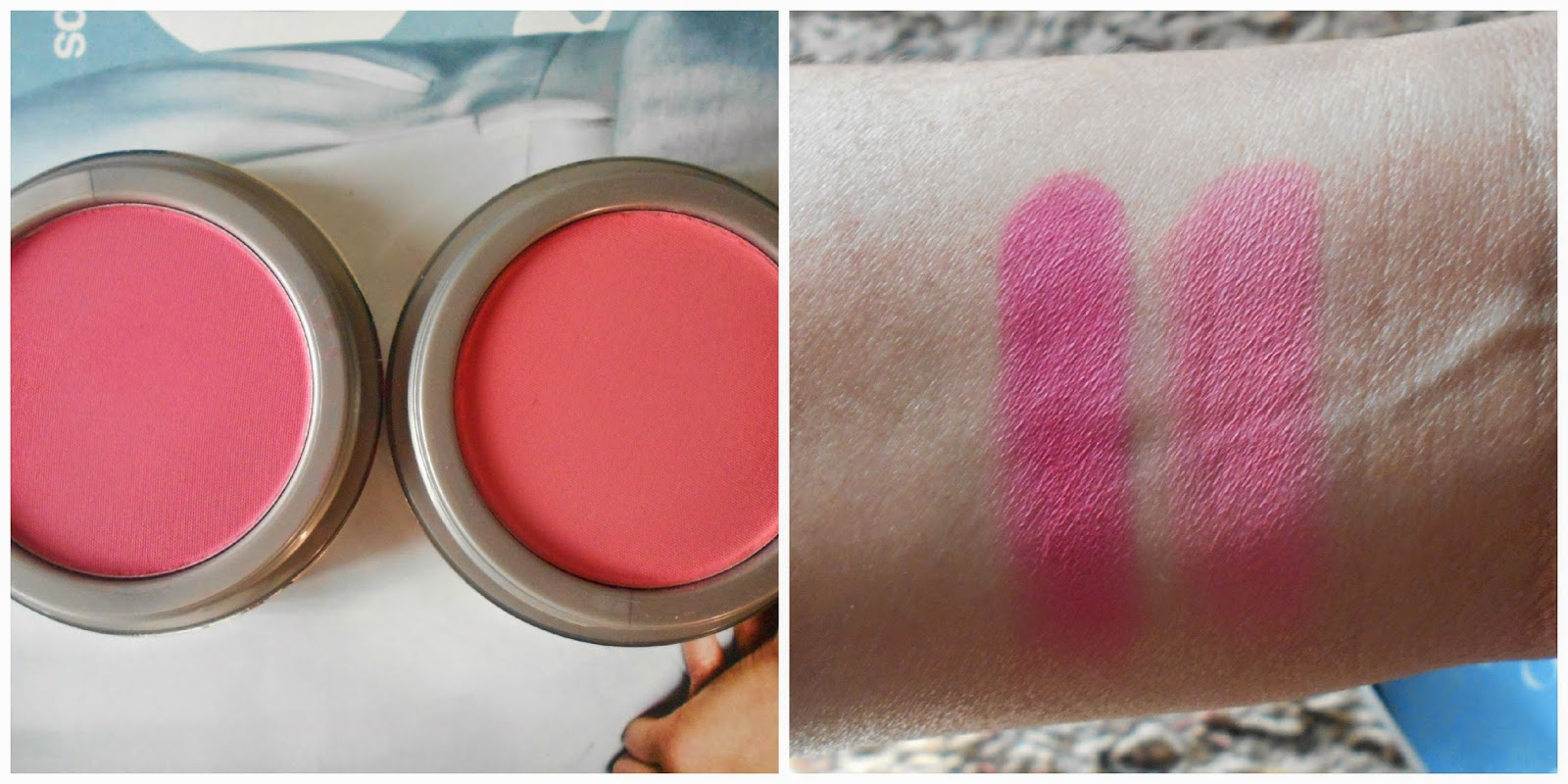 Jordana Cosmetics Powder Blushes