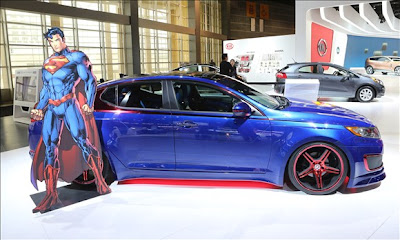 Superman Optima Hybrid from Kia