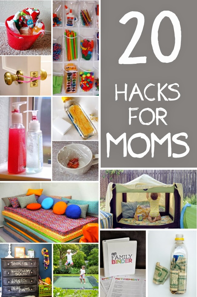 20 Hacks Every Mom Should Know