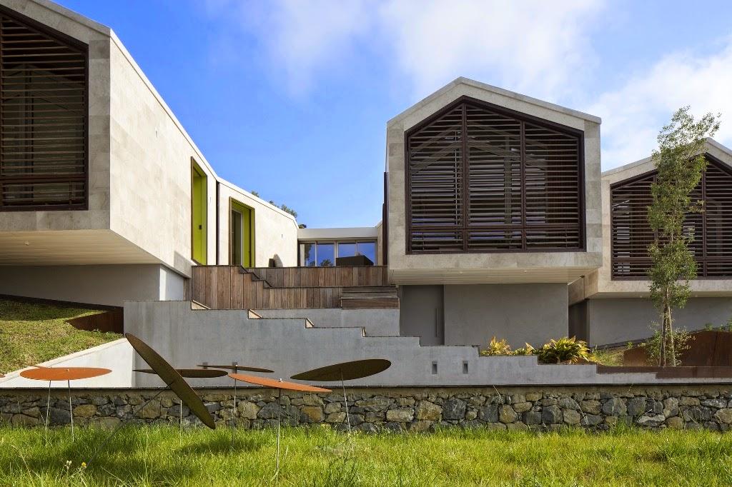 Desain Rumah Di Lahan Berkontur