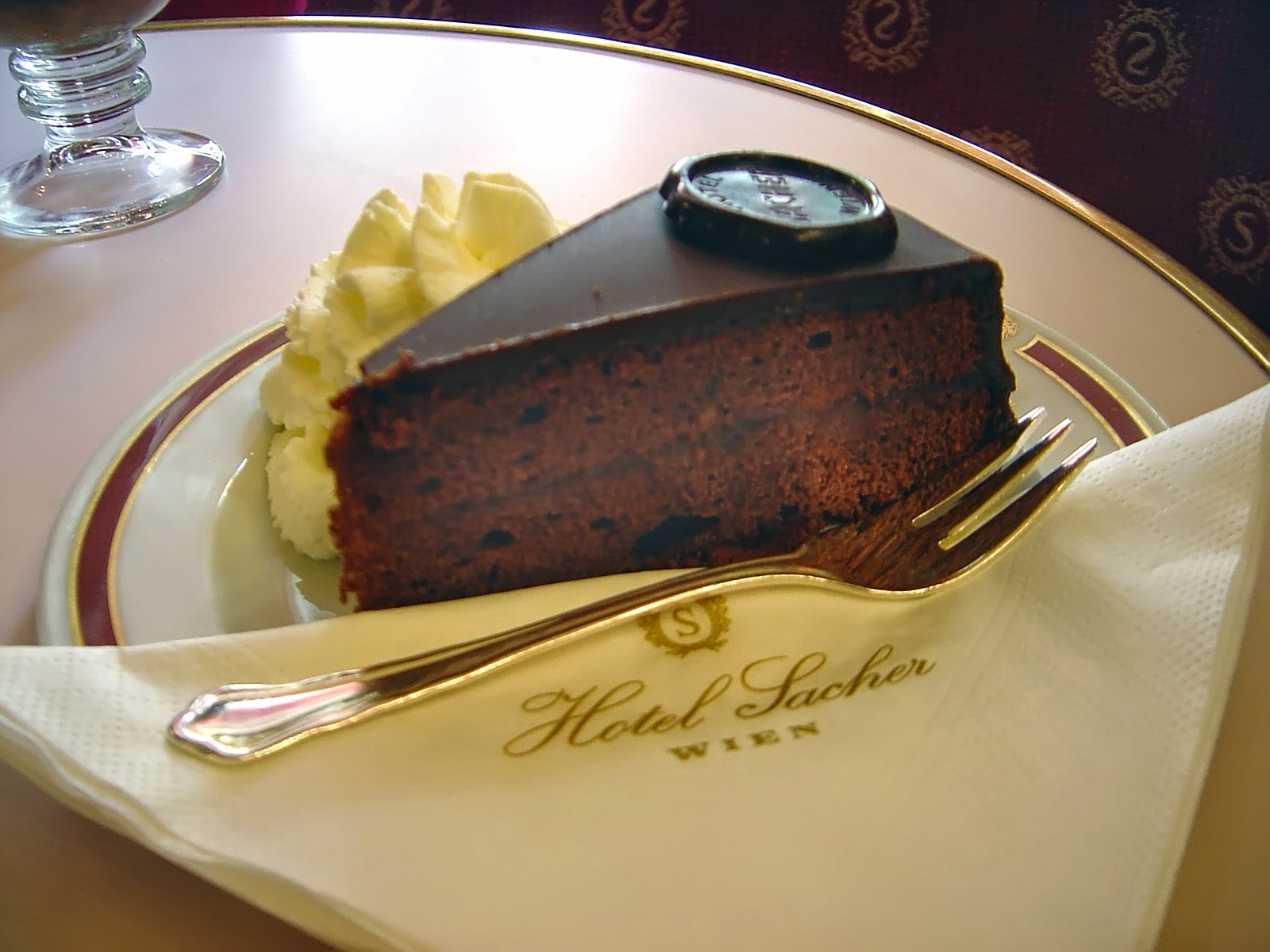 Sachertorte from Vienna