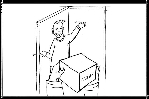 Cozify toimitus