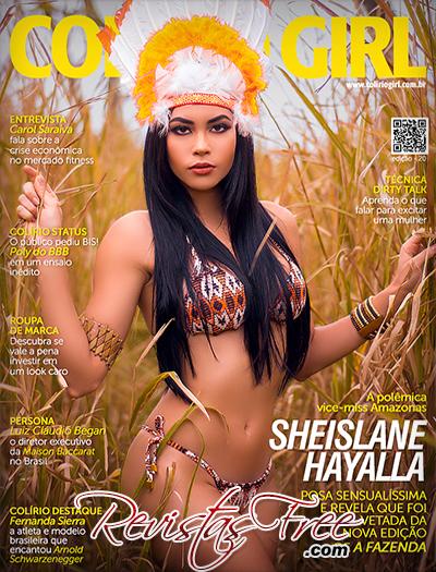 Sheislane Hayalla na Revista Colirio Girl