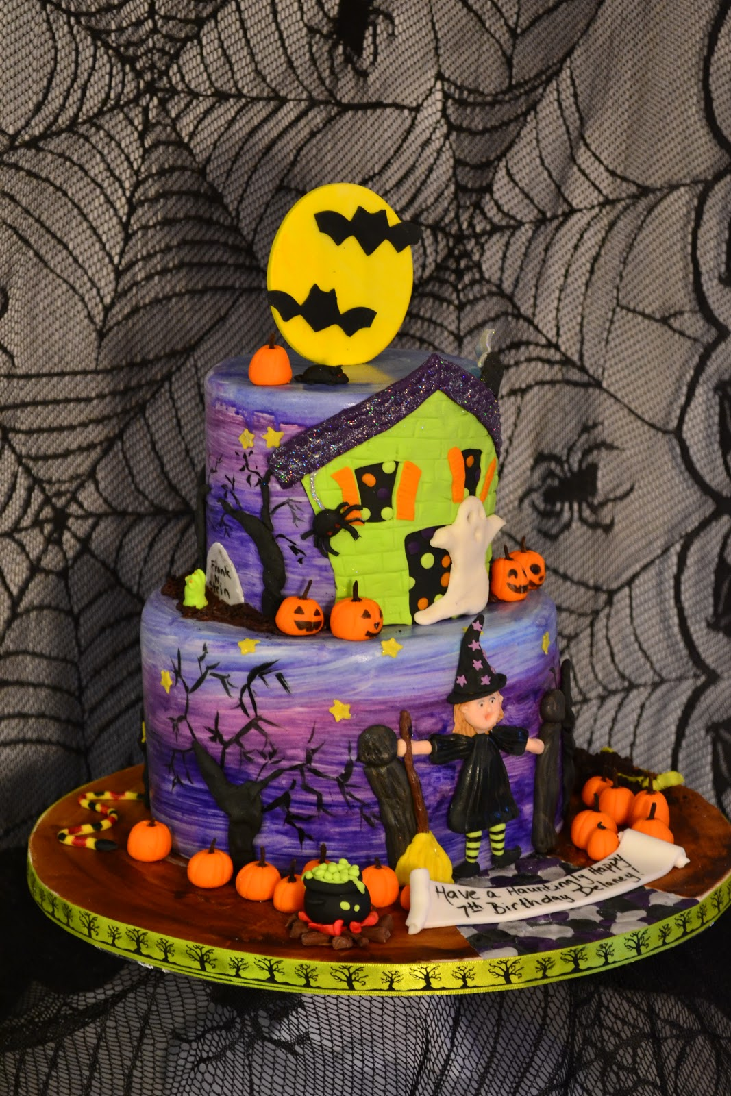Oh just put a cupcake in it halloween birthday cake for How to make halloween cupcake cakes