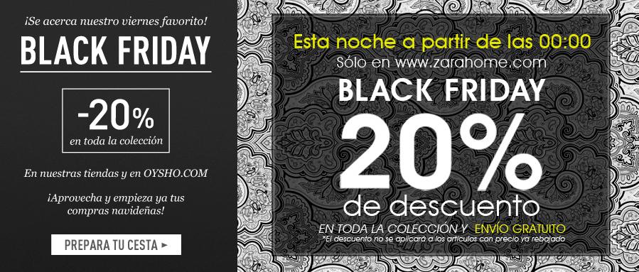 El rinc n de la cosm tica black friday recomendaciones - Zara home online espana ...