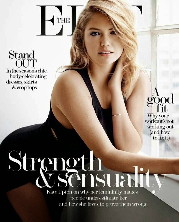 Kate Upton is sensual for The Edit Magazine's March 2015 issue