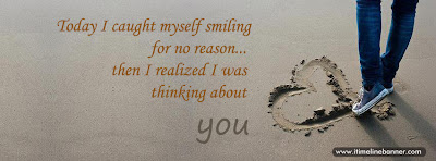 Love Quotes   Thinking About You Facebook Cover