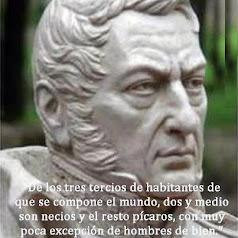 REFLEXIÓN DE JOSÉ DE SAN MARTÍN: