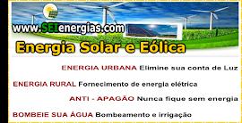 Energia alternativa - Eólica , solar e hidrica