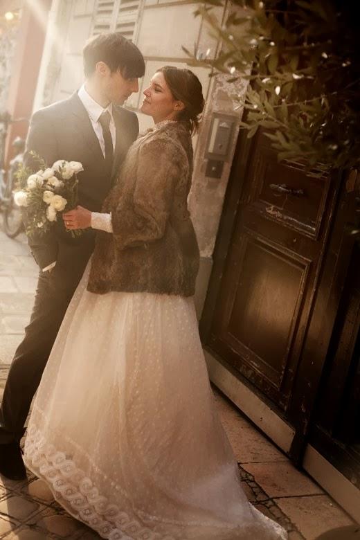 Increíble colección de vestidos de novias para invierno