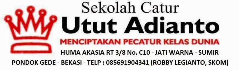 Sekolah Catur Utut Adianto Jakarta Timur Jakarta Barat Jakarta Selatan Turnamen Catur