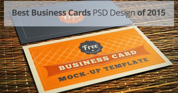 Online web design blog 10 best free business cards psd design of 2015 colourmoves