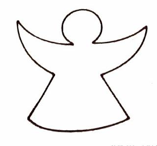 Moldes e riscos para pintura de Anjos