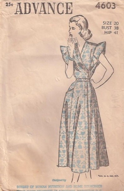 One Yellow Cottage Dating Vintage Sewing Patterns