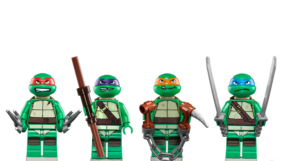 Ninja Turtles Coloring Pages Raphael Lego