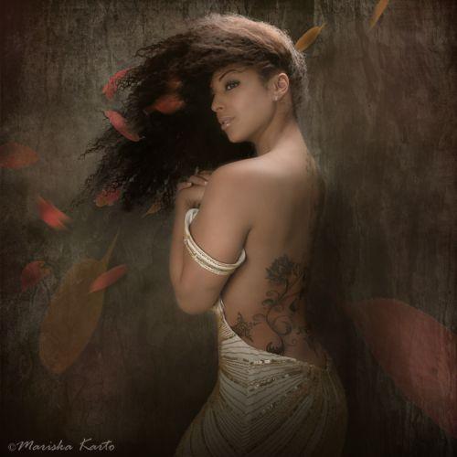 Mariska Karto fotografia photoshop como pinturas