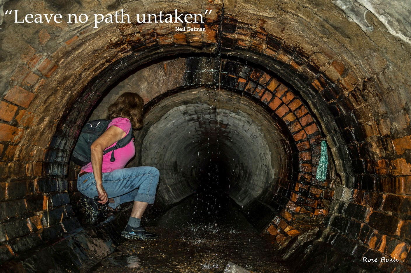 Brisbane Urbex Rose Bush Brick Storm Drain Underground