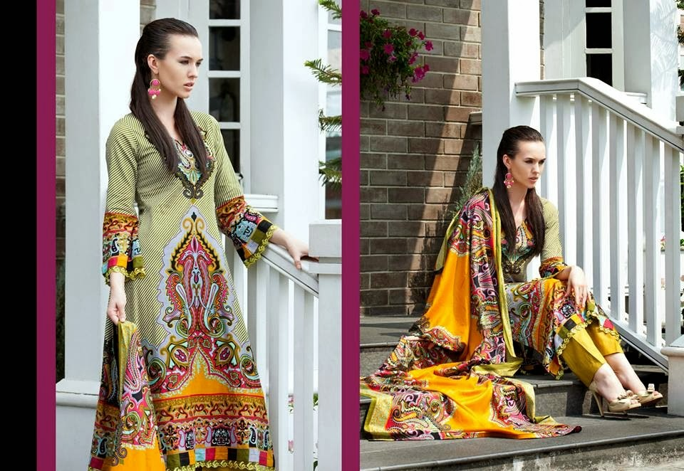 MonsoonLawn2014ByAl ZohaibTextile wwwfashionhuntworldblogspotcom 04 - Monsoon Lawn Spring/Summer Collection 2014