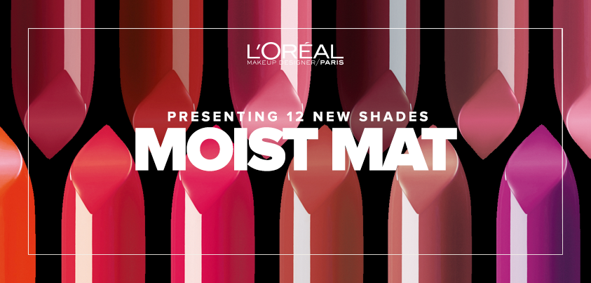 Loreal Paris Colour Riche Moist Matte Lipsticks