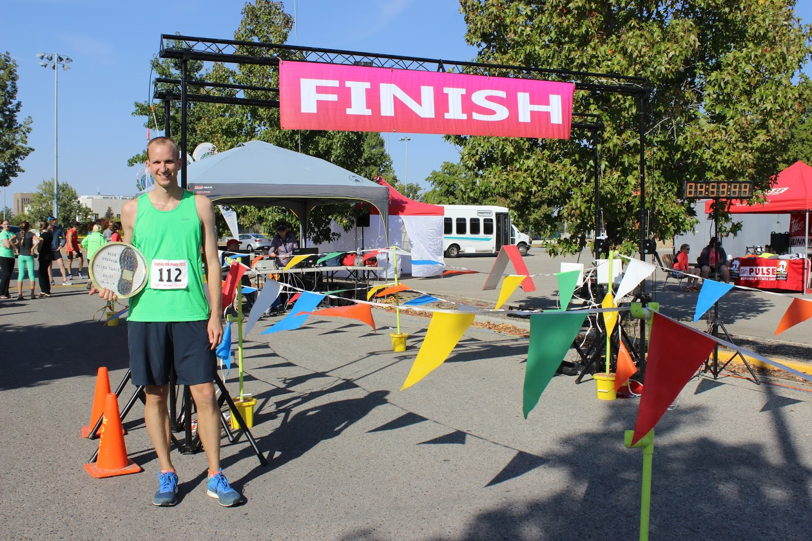 Foothills Frenzy 50K Finish Line