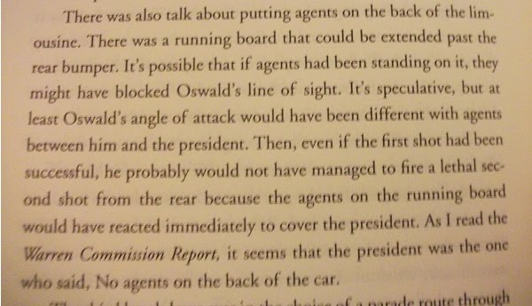 NON JFK Agent Joe Petro's book, page 20