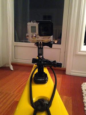 GoPro på kajakk