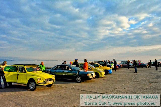 7. Rally maškaranih oktanaca Halubje – Liburnija 2016 (Opatija)